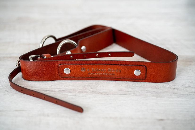 MANUS | CAMERA STRAP | BURNT UMBER  (Italian Leather ver2)