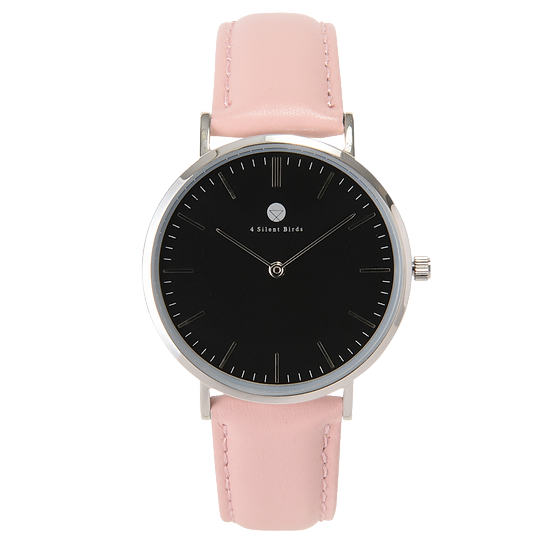 HERMIT 36MM | LEATHER | PEACH