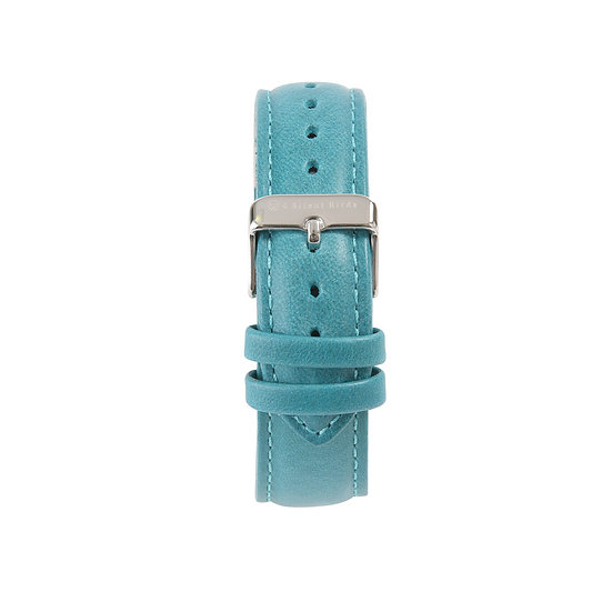 TEAL | LEATHER STRAP 40MM