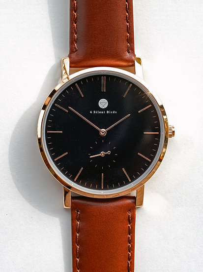 CONQUETTE 40MM | LEATHER