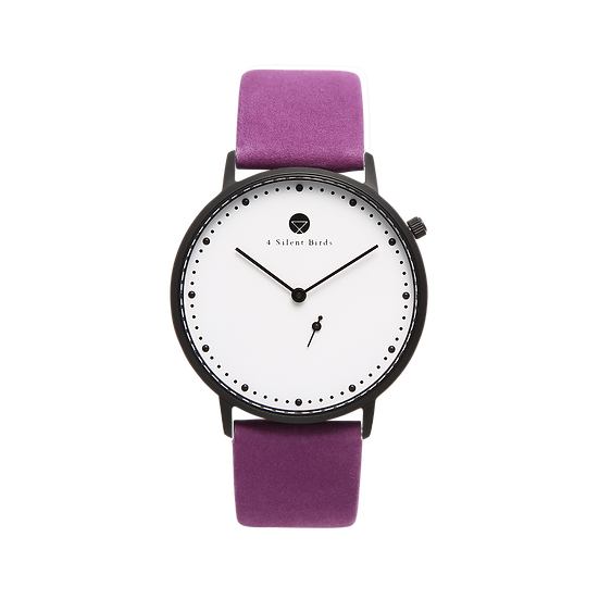 EIGHT HOOTER 36MM | NUBACK | ROYAL LILAC