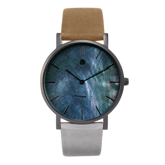 BRILLIANT GEM BLACK EDITION 40MM | NUBACK | AU NATUREL
