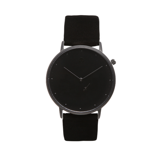 MELANISTIC 36MM | NUBACK | MIDNIGHT