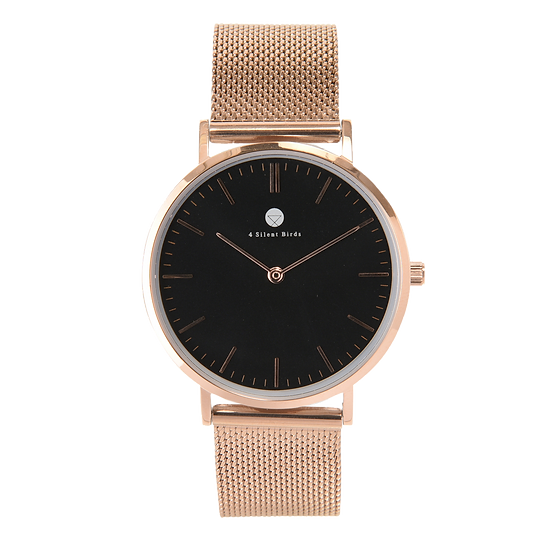 CONQUETTE 36MM | MILANESE | ROSE GOLD