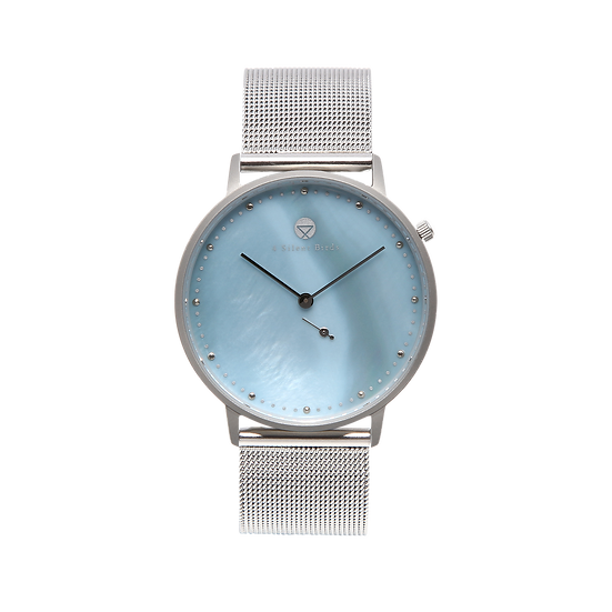LECHUZA 36MM | MILANESE | SILVER