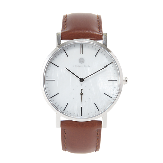SNOW GEM 40MM | LEATHER | BURNTUMBER