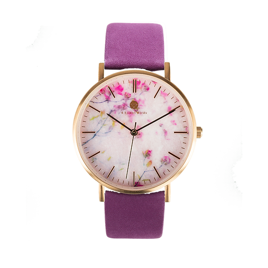 ROSE FLORISUGA 36MM | NUBACK | ROYAL LILAC