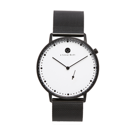EIGHT HOOTER 40MM | MILANESE | BLACK
