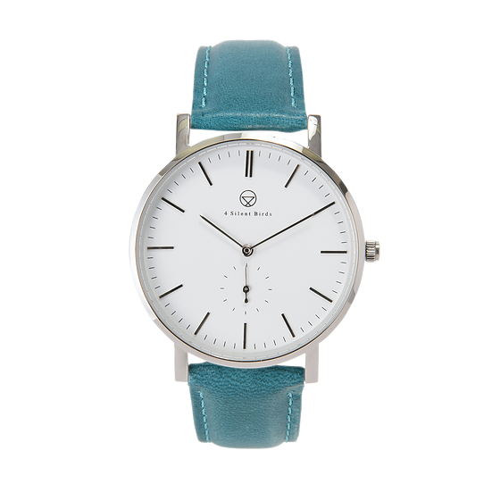 PATAGONA 40MM | LEATHER | TEAL
