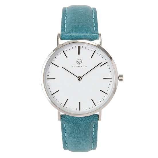 PATAGONA 36MM | LEATHER | TEAL