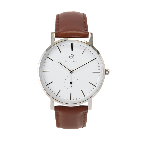 PATAGONA 40MM | LEATHER | BURNT UMBER