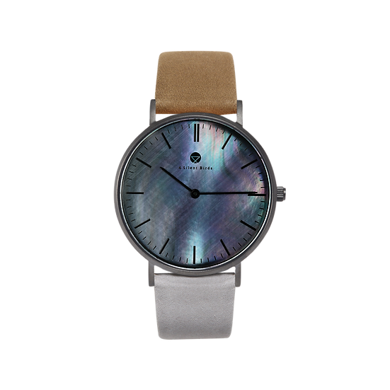 BRILLIANT GEM BLACK EDITION 36MM | NUBACK | AU NATUREL
