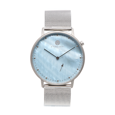 LECHUZA 40MM | MILANESE | SILVER