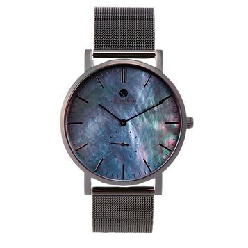 BRILLIANT GEM BLACK EDITION 40MM | MILANESE | BLACK