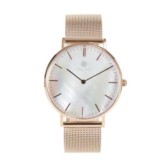 SNOW GEM 36MM | MILANESE | ROSEGOLD