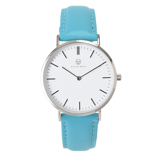 PATAGONA 36MM | LEATHER | TURQUOISE BLUE