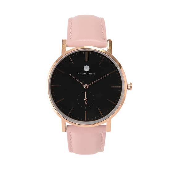 CONQUETTE 40MM | LEATHER | PEACH