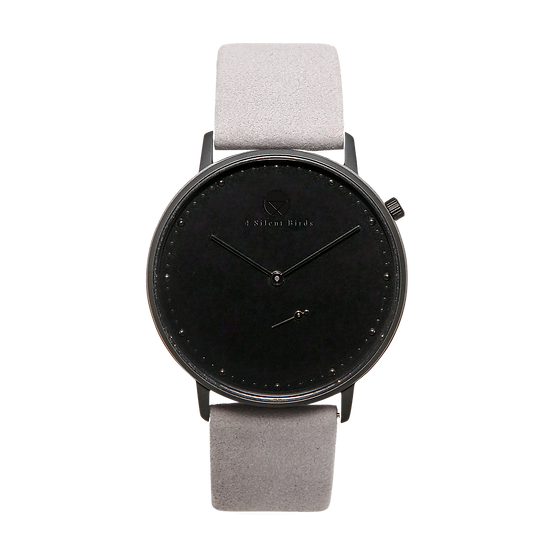 MELANISTIC 40MM | NUBACK | DRIZZLE