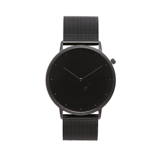 MELANISTIC 36MM | MILANESE | BLACK