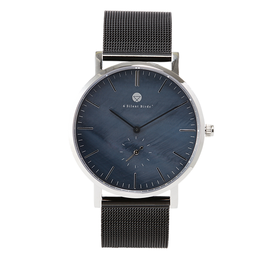BRILLIANT GEM 40MM | MILANESE | BLACK