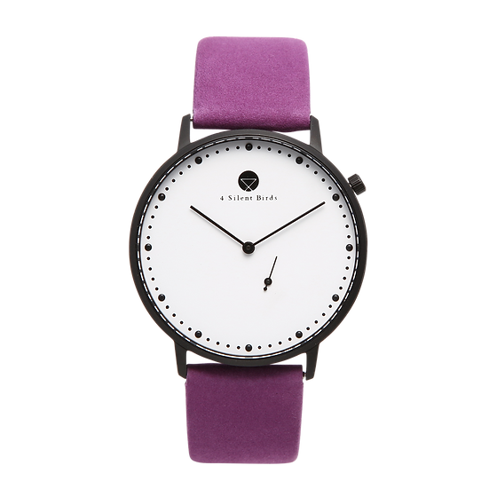EIGHT HOOTER 40MM | NUBACK | ROYAL LILAC