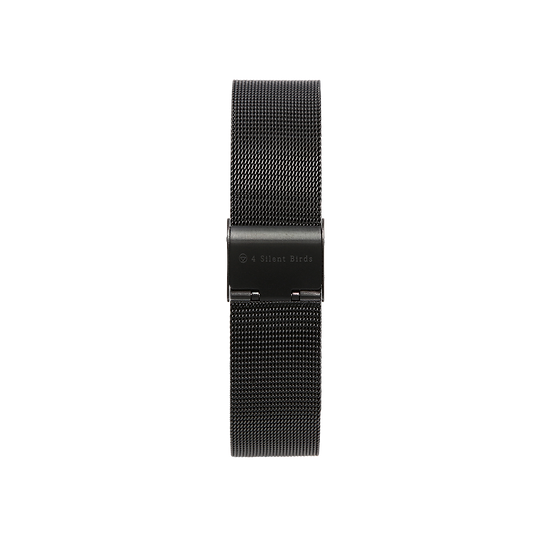 BLACK | MILANESE STRAP 40MM