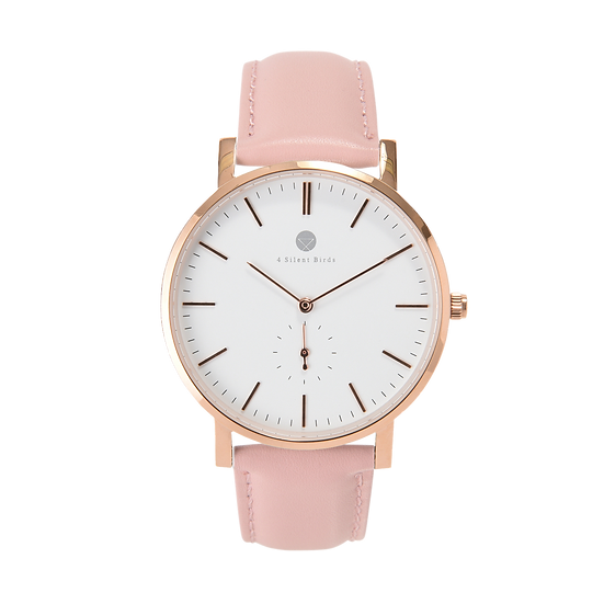 MANGOE 40MM | LEATHER | PEACH