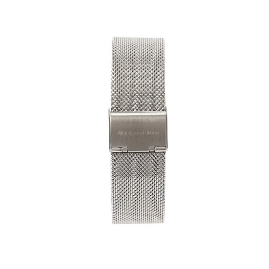 SILVER | MILANESE STRAP 36MM
