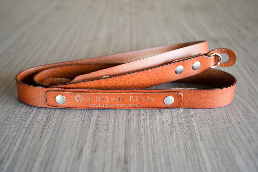URAL | CAMERA STRAP | BURNT UMBER (Italian leather)