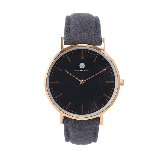 CONQUETTE 36MM | TWEED | BLACK SHEEP