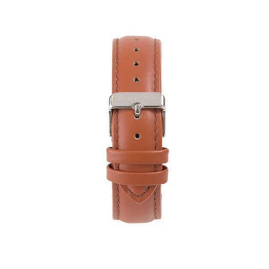 COCOA BROWN | LEATHER STRAP 40MM