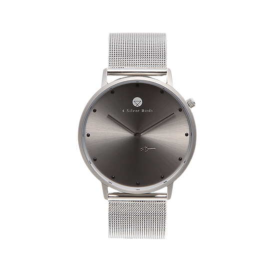 SNOWY 36MM | MILANESE | SILVER