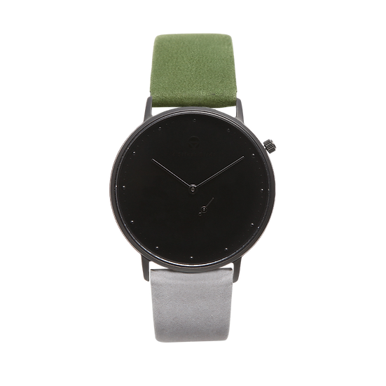 MELANISTIC 36MM | NUBACK | BURNT TO ASHES