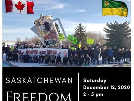 Saskatchewan Freedom Rally Regina