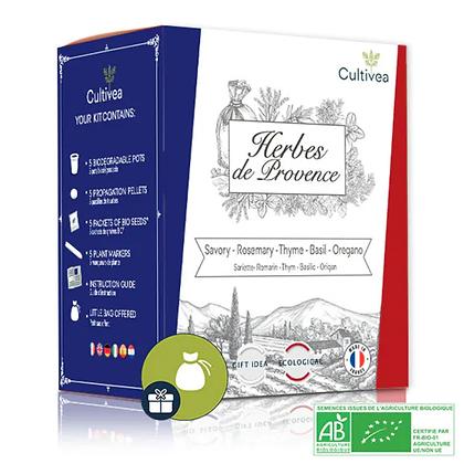 Mini Kit Prêt À Pousser - Saveurs Du Monde - Herbes De Provence Bio*