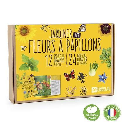 Coffret 12 Sachets Jardiner Les Fleurs À Papillons