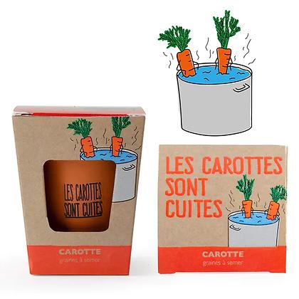 Kit de Plantation Les Carottes sont Cuites - Carottes