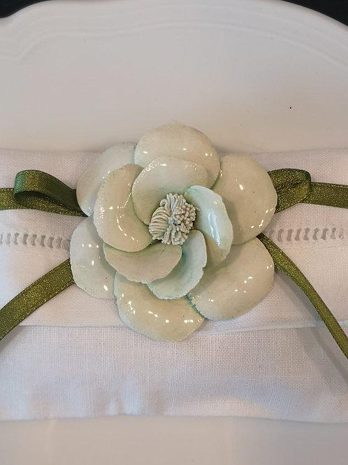 Fiore in porcellana