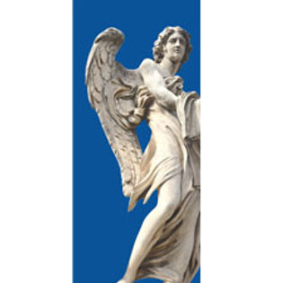Angelo 13 - blu verticale  80x180cm