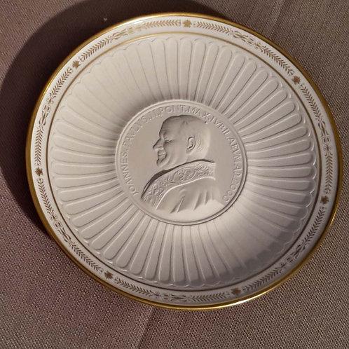 Piatto Papa Giovanni Paolo II
