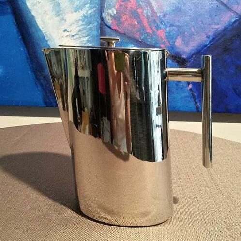 Caffettiera Broggi in acciaio nichelato