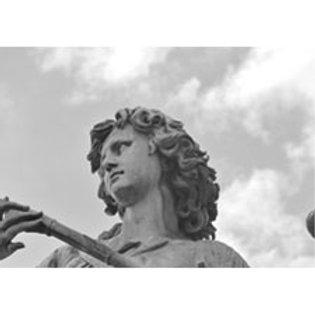 Angelo 09 - grigio nuvole 70x100cm
