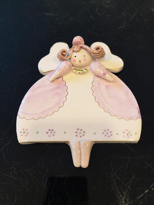 Angelo in porcellana di Capodimonte