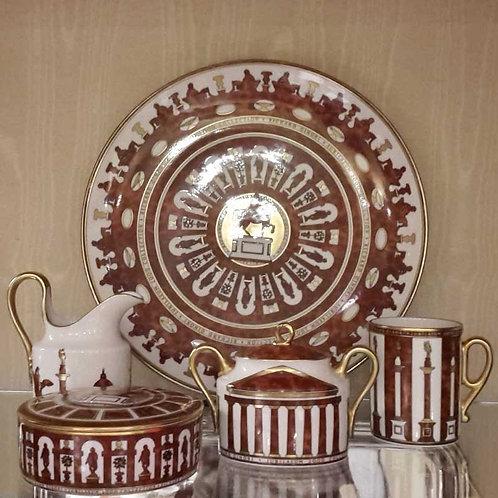 "Piatto in porcellana ""Jubilaeum 2000"""