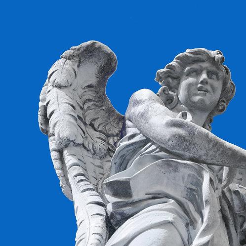 Angelo 15 - azzurro 100x100cm