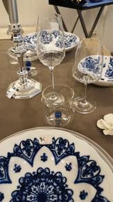 La tavola in blu