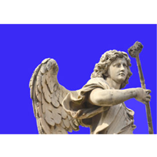 Angelo 07 - blu severo 70x100cm