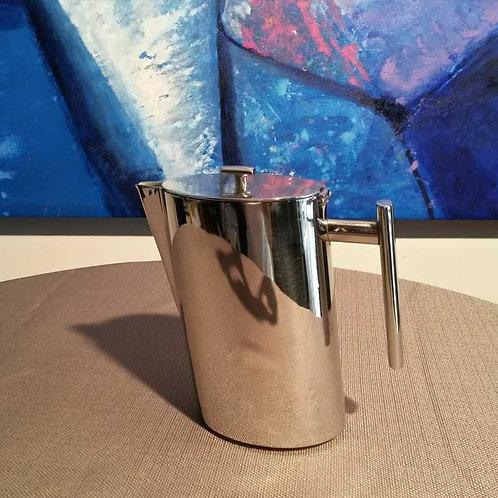 Caffettiera Broggi in acciaio nichelato piccola