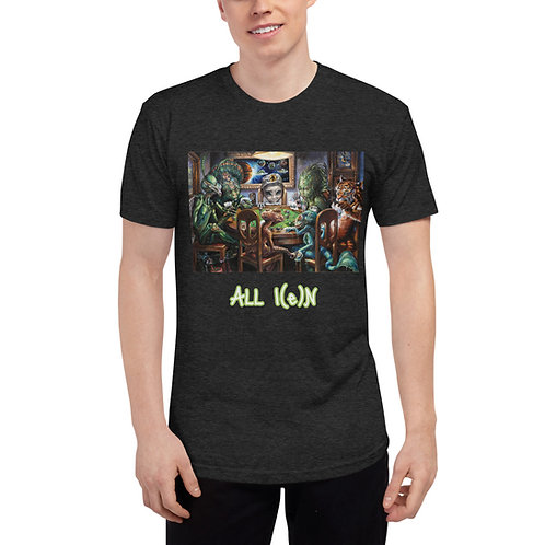 """""""ALL IN"""" Poker for planets shirt"""
