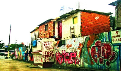 Favela, Sao Paulo, Brazil